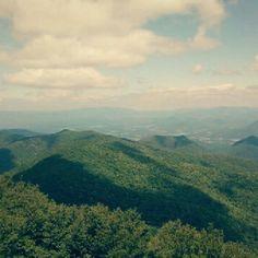 North Georgia Mountains.