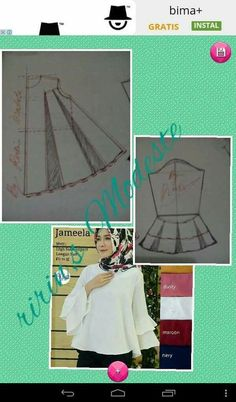 27 likes 1 commentsThe arms are 3 frilly top.Daha Once Sipsirin SariBeginning to Sew Modest Clothing Patterns – Recommendations from the Experts Designer Blouse Patterns, Dress Sewing Patterns, Sewing Patterns Free, Sewing Tutorials, Clothing Patterns, Blouse Designs, Sewing Projects, Make Your Own Clothes, Diy Clothes