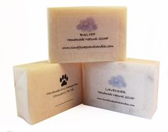 ECO MUTT - Lavender Handmade Natural SOAP. Treat your little mutt to a Lavender bath !