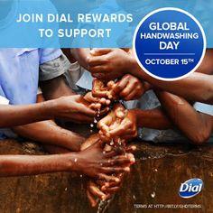 Dial Global Handwashing Day