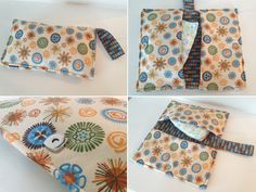 Cool Wallets - Fun and functional baby shower gift -- a diaper clutch. Easy to make, too, with the tutorial from Sewing Barefoot. Sewing For Kids, Baby Sewing, Sewing Kit, Diaper Clutch Tutorial, Wallet Tutorial, Diy Tutorial, Nappy Wallet, Diy Clutch, Handmade Clutch