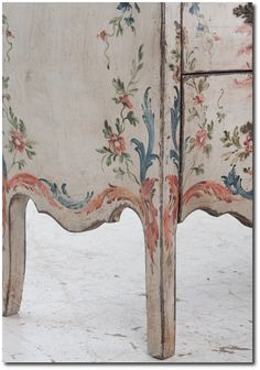 Italian 19th Century Painted Bombay- Fireside Antiques