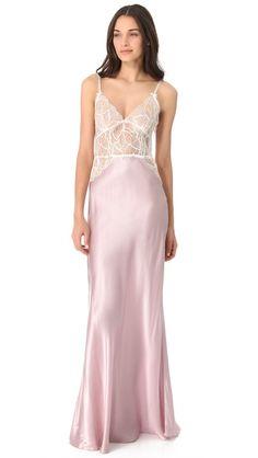 Silk Nightgowns   ... Lingerie > Sleepwear > Jenny Packham Clothing > Jenny Packham Lingerie