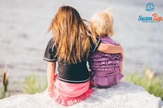 There is no better friend than a sister.  There is no better sister than YOU.   Sisters are forever - love SwimZip Sun Protective Swimwear