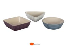 Image for Set of 3 Tapas Dishes from Le Creuset