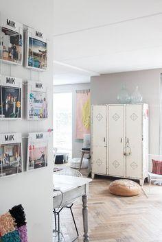 Noix De Déco - Blog Déco & Design inspirant pour la maison: Visite déco: Une maison décorée avec amour