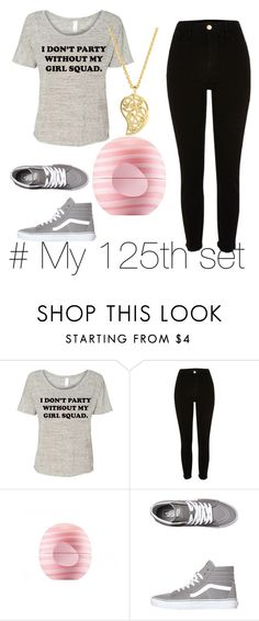 """""""My 125th set ☺"""" by mlp-love ❤ liked on Polyvore featuring River Island, Eos, Vans and Sonal Bhaskaran"""