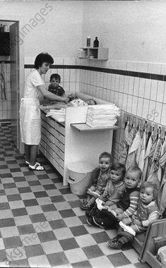 DDR Kinder,DDR Krankenschwester,DDR Gesundheitswesen