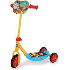 Jake Never Land Pirates Roller Scooter Tretroller Cityroller Klappbar 3 Rädern