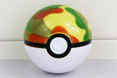 Pokemon Trainer Pokeball With Mini Pokemon Figure Doll