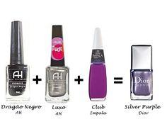 Misturinha para Chanel Dragão Negro AH + Luxo AH + Club Impala = Silver Purple Dior