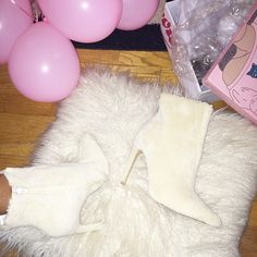 Bree with the Jeffrey Campbell Vain Shearling Bootie || Get the booties: http://www.nastygal.com/product/jeffrey-campbell-vain-shearling-bootie?utm_source=pinterest&utm_medium=smm&utm_term=ngdib&utm_content=omg_shoes&utm_campaign=pinterest_nastygal