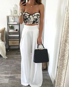 Wish tops like this fit my bra size fashion yaz giyim, moda, Komplette Outfits, Spring Outfits, Casual Outfits, Fashion Outfits, Womens Fashion, Fashion Trends, Women's Casual, Vacation Outfits, Fashion Styles