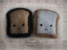 toast plushies