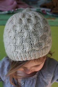 Free Pattern Honey Hat by Hannah Fettig.