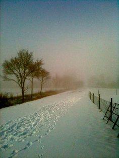 Kettleburgh snow - Suffolk, England