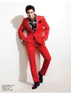BIGBANG's T.O.P Arena Homme+ Korea Magazine July 2010