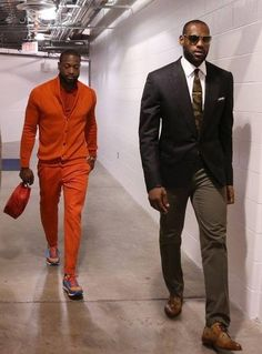 LaBron James & Dewayne Wade