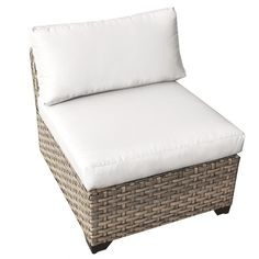 Monterey Armless Chair with Cushions