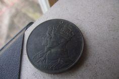 1939 Canadian Token Medal Coin King Queen Bronze 2 Headed 2 Heads Collectible