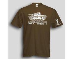 T-Shirt Panzerkampfwagen III / mehr Infos auf: www.Guntia-Militaria-Shop.de