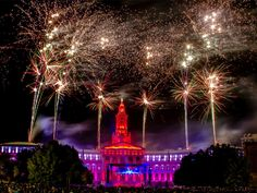 Believe it or not, the biggest Fourth of July celebration in the Mile High City actually takes place July 3 at the annual Independence Eve Celebration in Civic Center Park. Overlooking the Denver City and County Building, this elaborate light and fireworks show attracts people from all over Colorado.