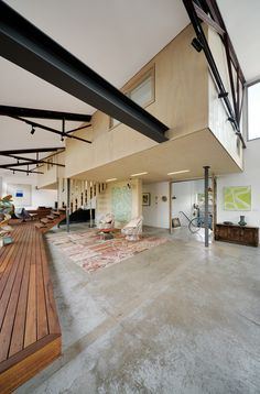A 1960's Warehouse Becomes a Family Home in Melbourne - Design Milk