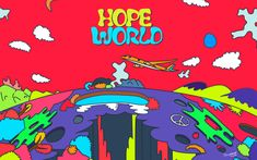 JHope's 'Hope World' Mixtape Cover! ️ Where to find