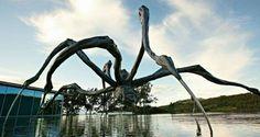 Centro de Arte Contemporânea Inhotim, na região de Belo Horizonte, estado de…