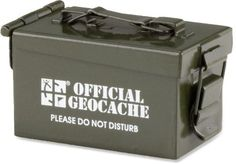 Mini Ammo Can Geocaching Container