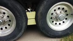 DIY wheel chocks....easy peasy!