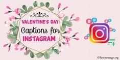 Unique Valentines Day Captions for Instagram. Best Valentine Instagram captions Best Valentine Message, Valentine Wishes, Valentines Day Messages, Happy Valentines Day, Valentine's Day Captions, Cute Captions, Good Instagram Captions, Greeting Cards, Romantic