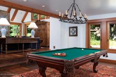 7.2 (28) pool table This is how the world's richest woman lives: Christy Walton's Wyoming estate is for sale