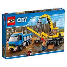 Kup Teraz: LEGO CITY, klocki Koparka i ciężarówka, 60075 -   LEGO , tylko 130,75 zł w Smyk.com. Darmowy odbiór w salonach Empik,  sprawdź!