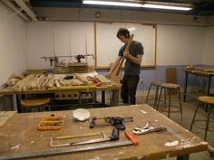 The BAC Woodshop. Located in the basement of 320 Newbury. Resource for BAC faculty and students.