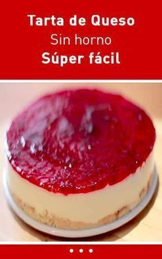 159 Best Sin Horno images in 2020 No Bake Desserts, Easy Desserts, Dessert Recipes, Easy Cheesecake Recipes, Mini Cheesecakes, Mini Cakes, Yummy Cakes, Sweet Recipes, Food And Drink