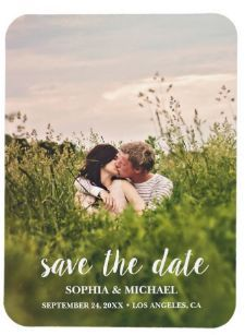 Calligraphy Save the Date Wedding Photo Magnet Navy Save The Dates, Save The Date Photos, Wedding Save The Dates, Save The Date Cards, Wedding Planning On A Budget, Wedding Planning Inspiration, Engagement Inspiration, Engagement Invitations, Destination Wedding Invitations