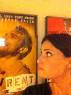 Backstage with Adam Pascal...