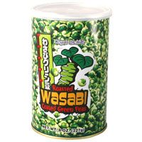 Roasted Wasabi Peas Can 8 oz