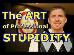 The Art of PROFESSIONAL stupidity! (Eric Hovind... a shining example of creationist christian hypocrisy, dishonesty, and outright stupidity)