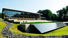 Omega Center for Sustainable Living, #LEED Platinum, upstate New York, by @BNIM