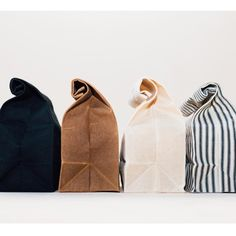 Lunch Bag // Waxed Canvas Lunch Bag Packing a lunch feels much more exciting when it's going inside these beautiful waxed canvas bags. Waxed Canvas Bag, Canvas Bags, Living At Home, Green Life, Sustainable Living, Zero Waste, Reduce Waste, Reduce Reuse, Sustainability