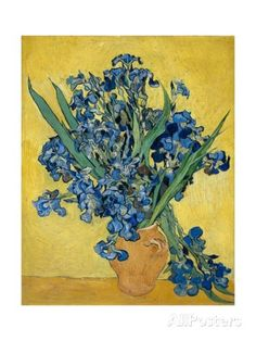 Irises Giclee Print by Vincent van Gogh at AllPosters.com