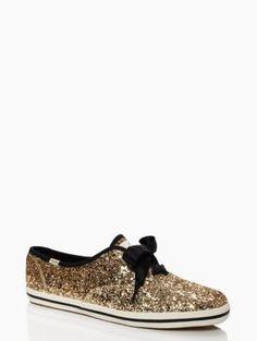 keds for kate spade new york glitter sneakers - kate spade new york