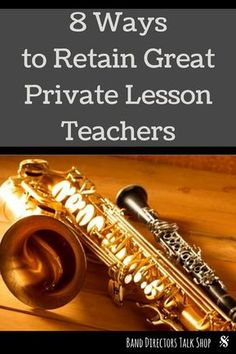 Do you struggle with keeping your private lesson teacher staff happy? Is your music room a revolving door? Here are 8 ways to keep your private lesson staff happy. Ideas for band directors, music teachers, choir directors and orchestra directors to implement today! Improve your music program with these easy tips!