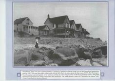 Quonnie Cottages, destroyed in Hurricane of 1938