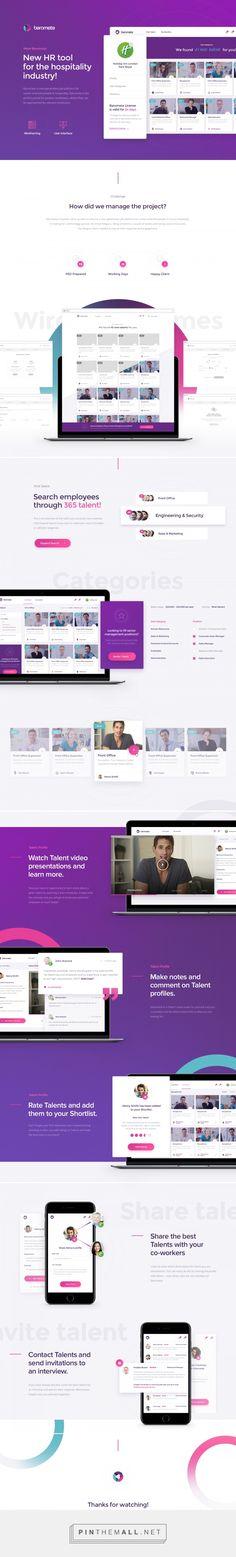Barometa - Next-generation Job Platform on Behance - created via https://pinthemall.net