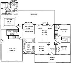 Down Home Styling - 3619DK | 1st Floor Master Suite, Bonus Room, CAD Available, Corner Lot, Country, PDF, Split Bedrooms | Architectural Designs