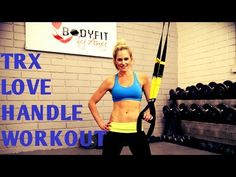 10 Minute TRX Suspension Trainer Love Handle Workout for Obliques and Core - YouTube
