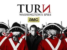 TURN: Washington's Spies, season 1 [TV Series] - Engaging, but they w/many liberties to keep things intriguing & have an cleancut good vs. bad scenario playing out (& a love story, to boot).  I keep watching it as it took place where I grew up, & I'm a huge history, but... eh.  I take issue w/the script, not the acting, btw.  MAJOR PRO:  George Washington is the most George Washington-est looking George Washington I have ever scene.  Eerily impressive.